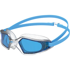 speedo Hydropulse Occhialini da nuoto, pool blue/clear/blue